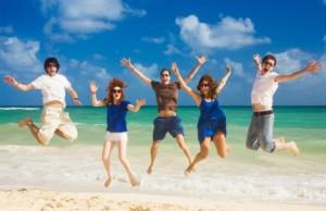 Happy at beach 5300342XSmall